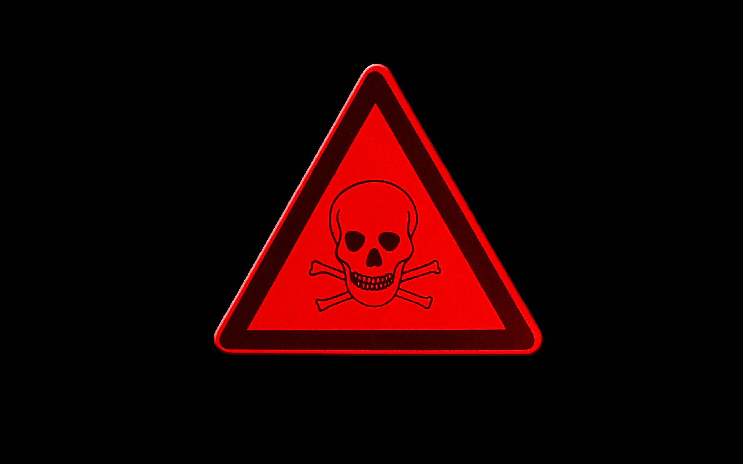 Related Sign Toxic Clip Art 2560x1600