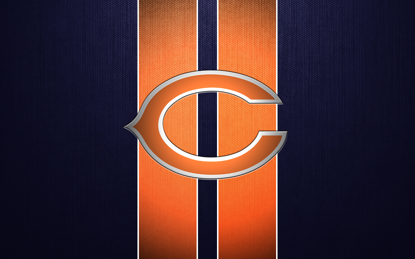 Chicago Bears Logo Wallpaper Chicago bears wallpaper 1440x900