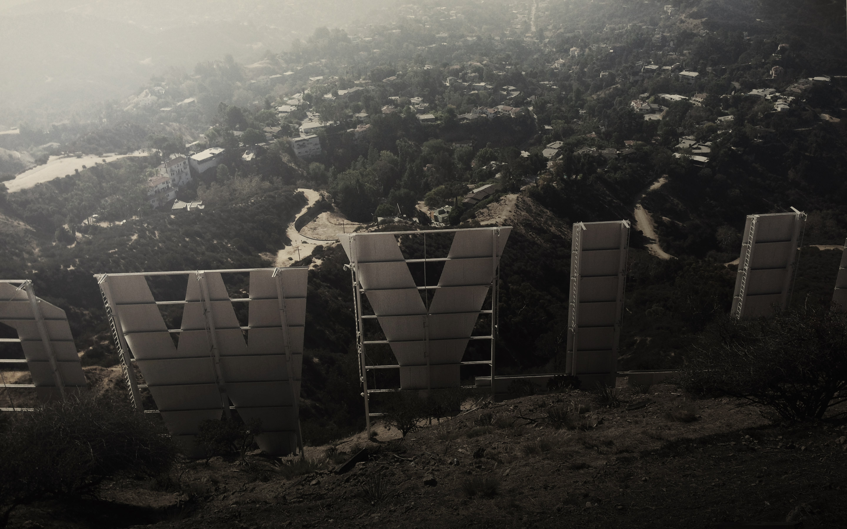 Cool Hollywood Sign Wallpaper Inkdryer daily wallpaper 2880x1800