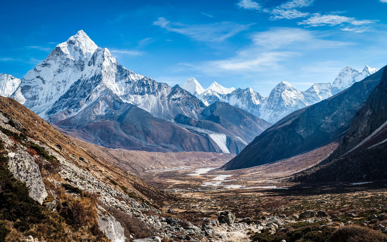 Ama Dablam Himalaya Mountains Wallpapers HD Wallpapers 2880x1800