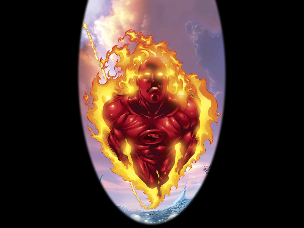 Human Torch wallpaper   ForWallpapercom 1024x768