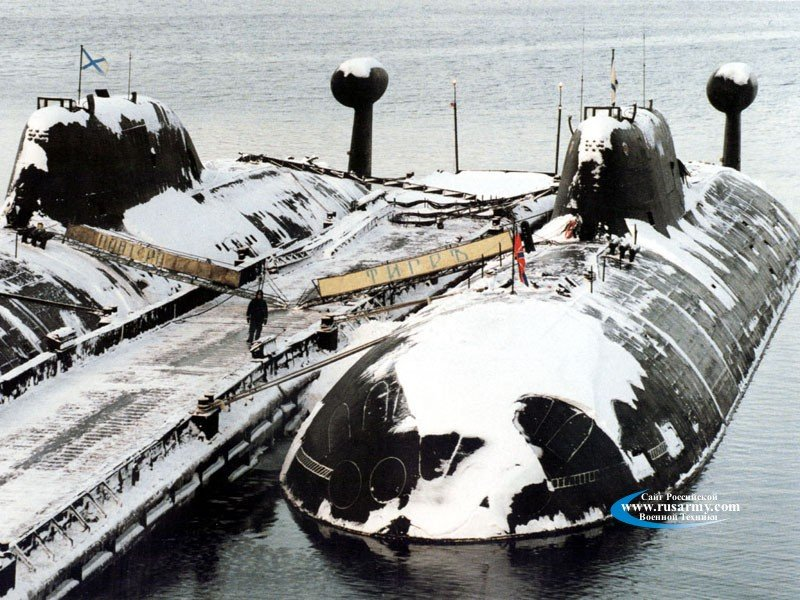 Wallpapers Project 971 Multipurpose Nuclear Submarine 800x600