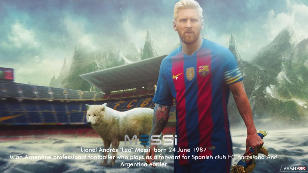 Lionel Messi Wallpaper 201617 by AhmedGFX DZ 1024x576