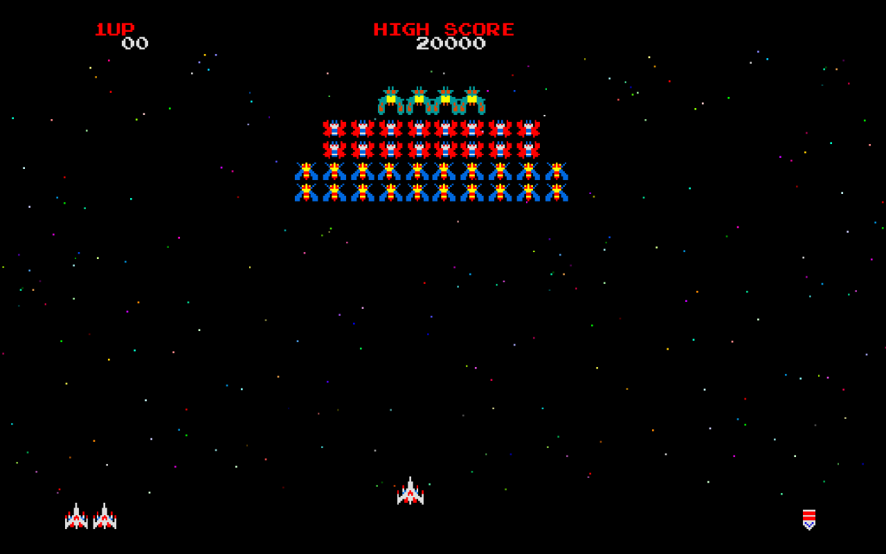 1280x800 Retro Galaga desktop PC and Mac wallpaper 1280x800