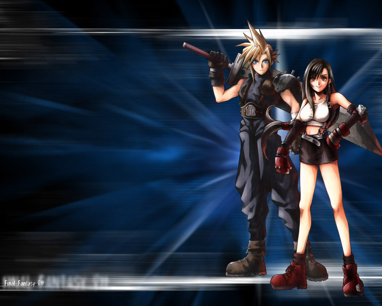 Final Fantasy 7 tifa et cloud wallpapers   W3 Directory Wallpapers 1280x1024
