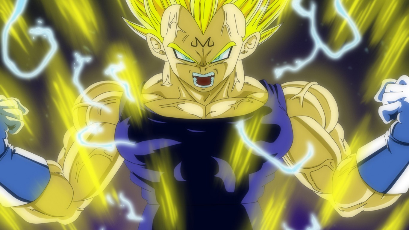High Resolution Dragon Ball Z Super Saiyan Vegeta Wallpaper HD 7 1366x768