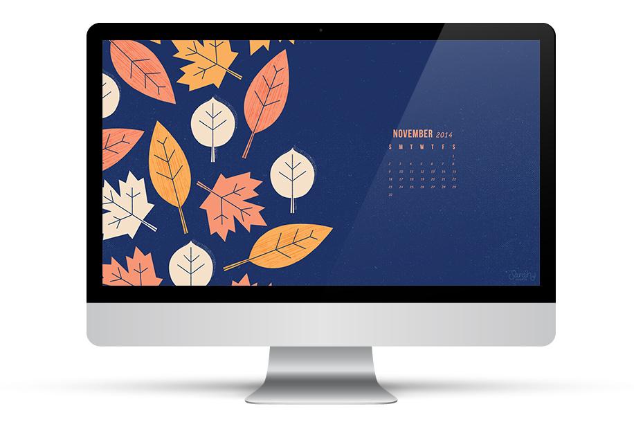 Sarah Hearts   November 2014 Calendar Wallpapers 916x610