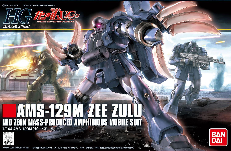 Box Art HGUC 1144 AMS 129M Zee Zulu Images Wallpaper Size 1500x982
