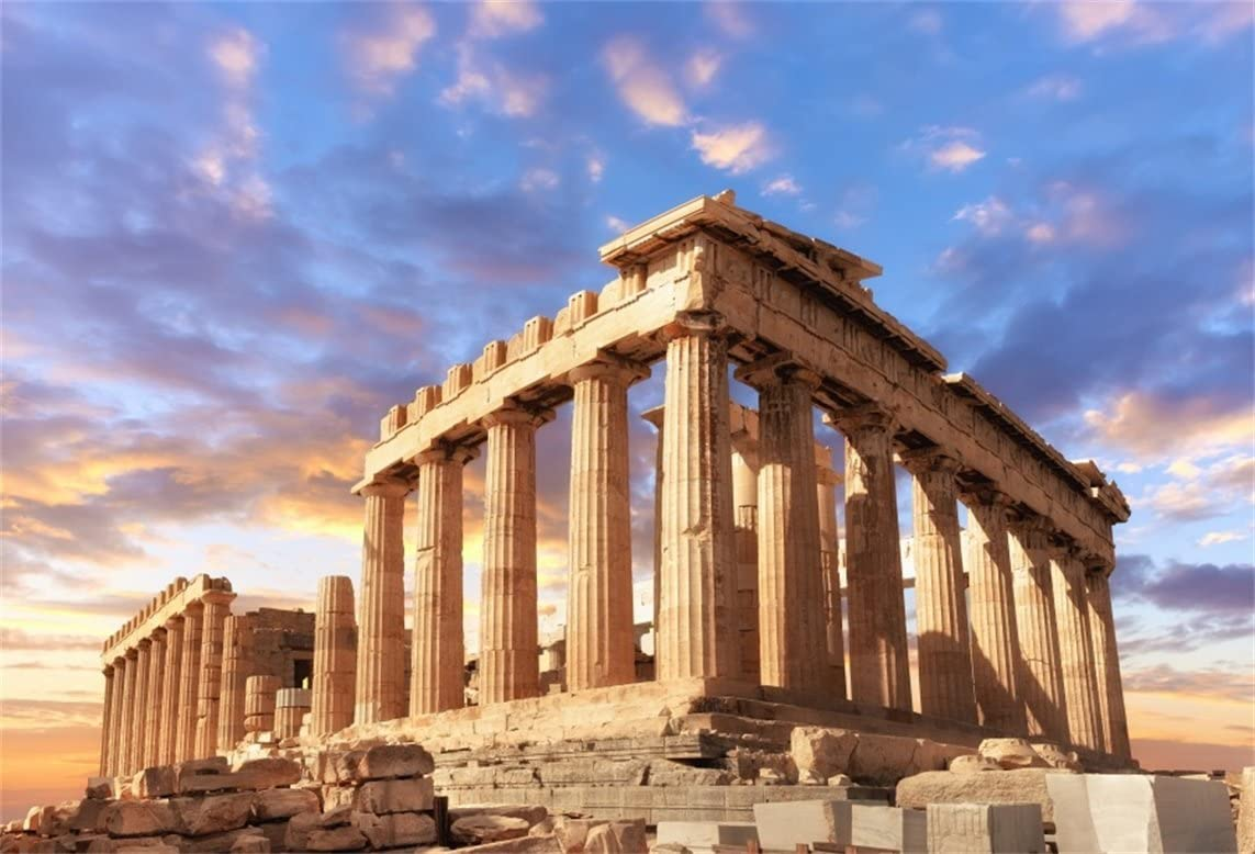 Amazoncom AOFOTO 12x8ft Greece Parthenon Temple Backdrop Famous 1143x778