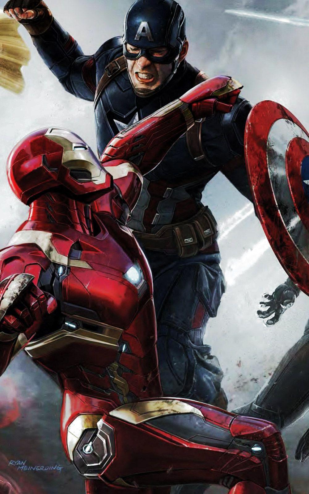 Captain America Civil War iPhone Wallpaper iPhone Wallpaper 1000x1600