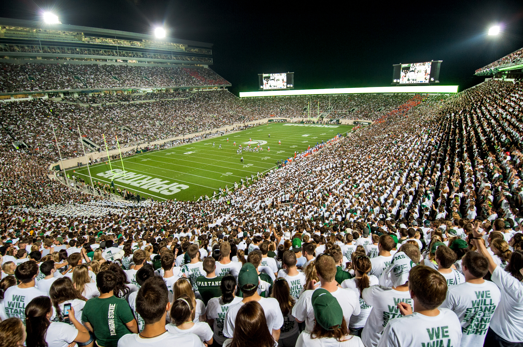 to MSU for battle with Buckeyes MSUToday Michigan State University 1800x1195