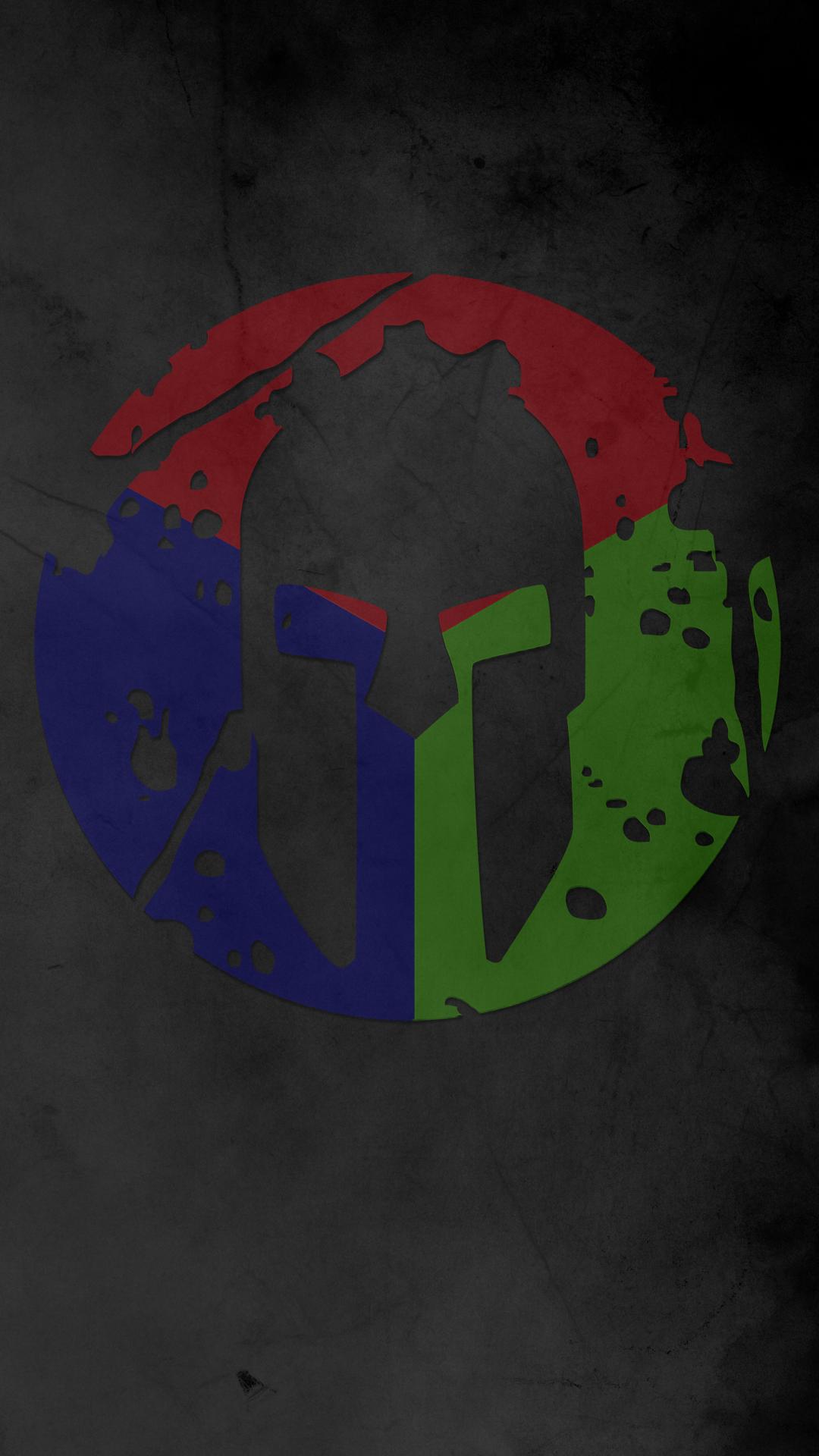 Spartan Trifecta Wallpaper 1080x1920