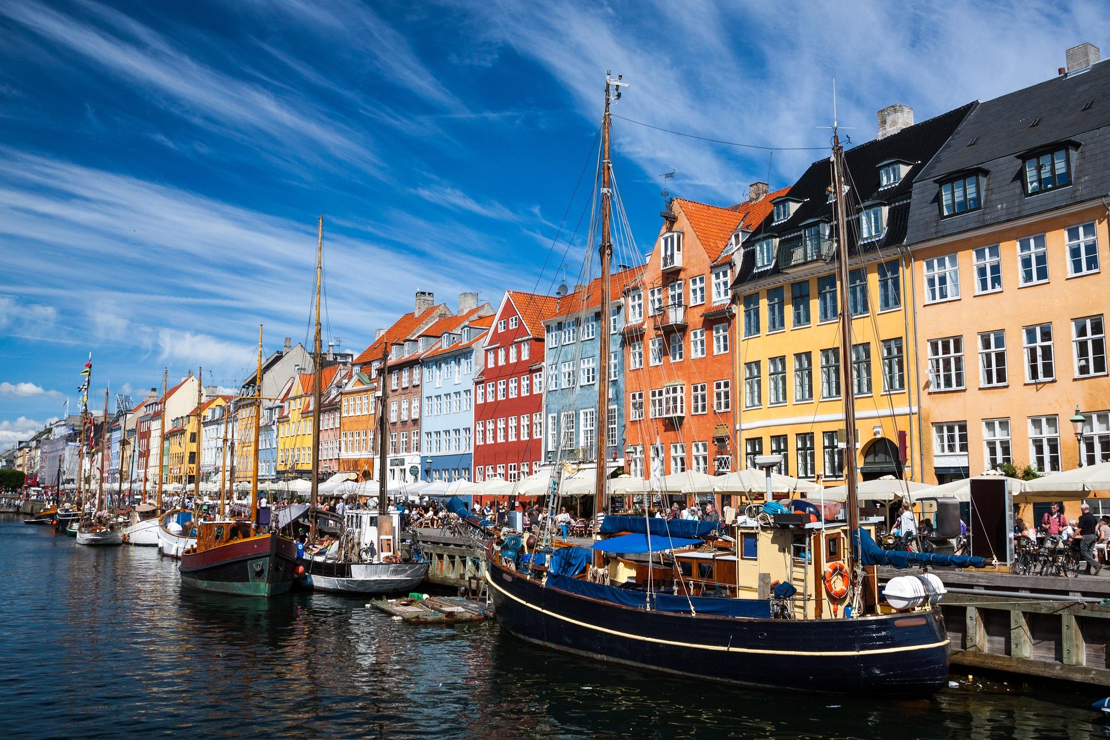 Copenhagen Attractions HD Wallpaper Background Images 2206x1471