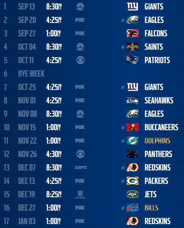 2015 dallas cowboys schedule dallas cowboys schedule 2015 dallas 617x765
