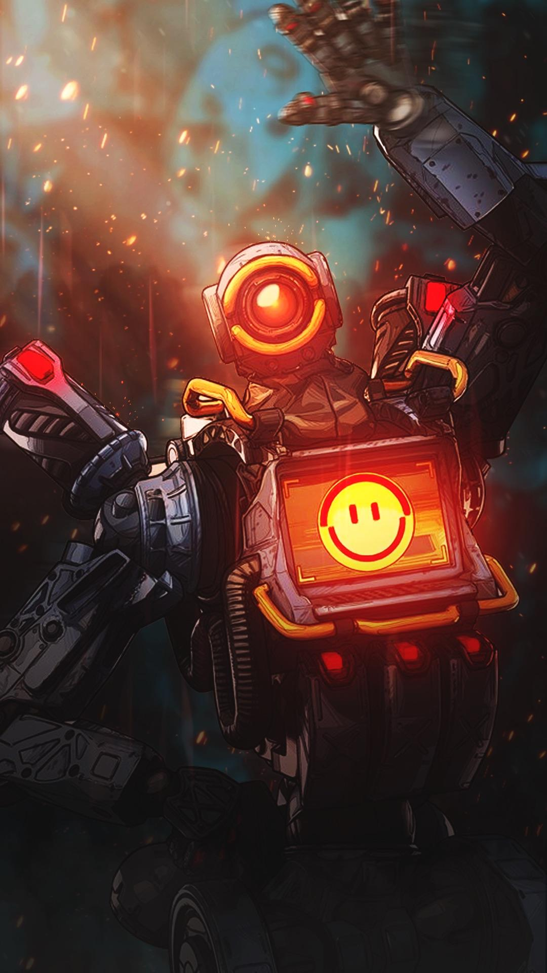 Pathfinder iPhone Wallpaper Apex Legends 4543 Wallpapers and 1080x1920
