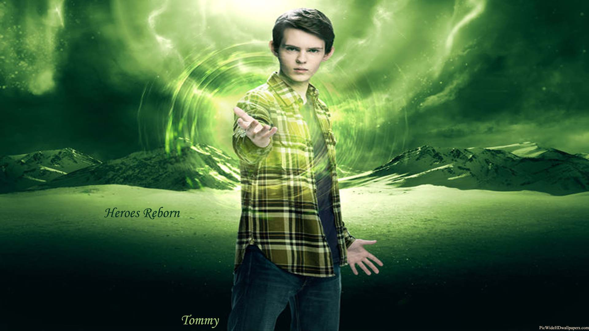 Download Robbie Kay As Tommy In Heroes Reborn Tv Series Wallpaper 1920x1080