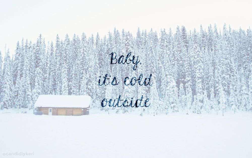 Baby its cold outside TwitterFacebook covers Christmas 1000x625