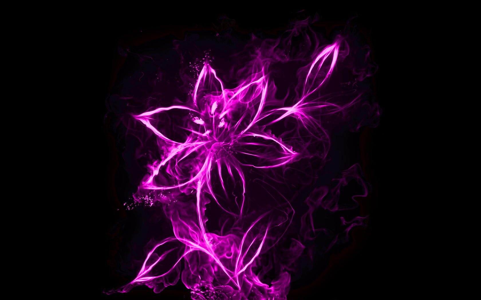 Abstract flowers wallpapers