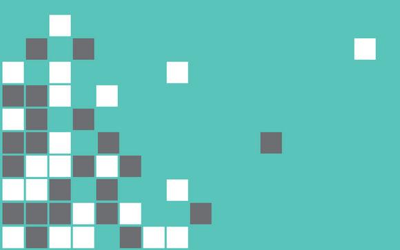Teal Pixels Wallpaper Download Wallpaper 580x363