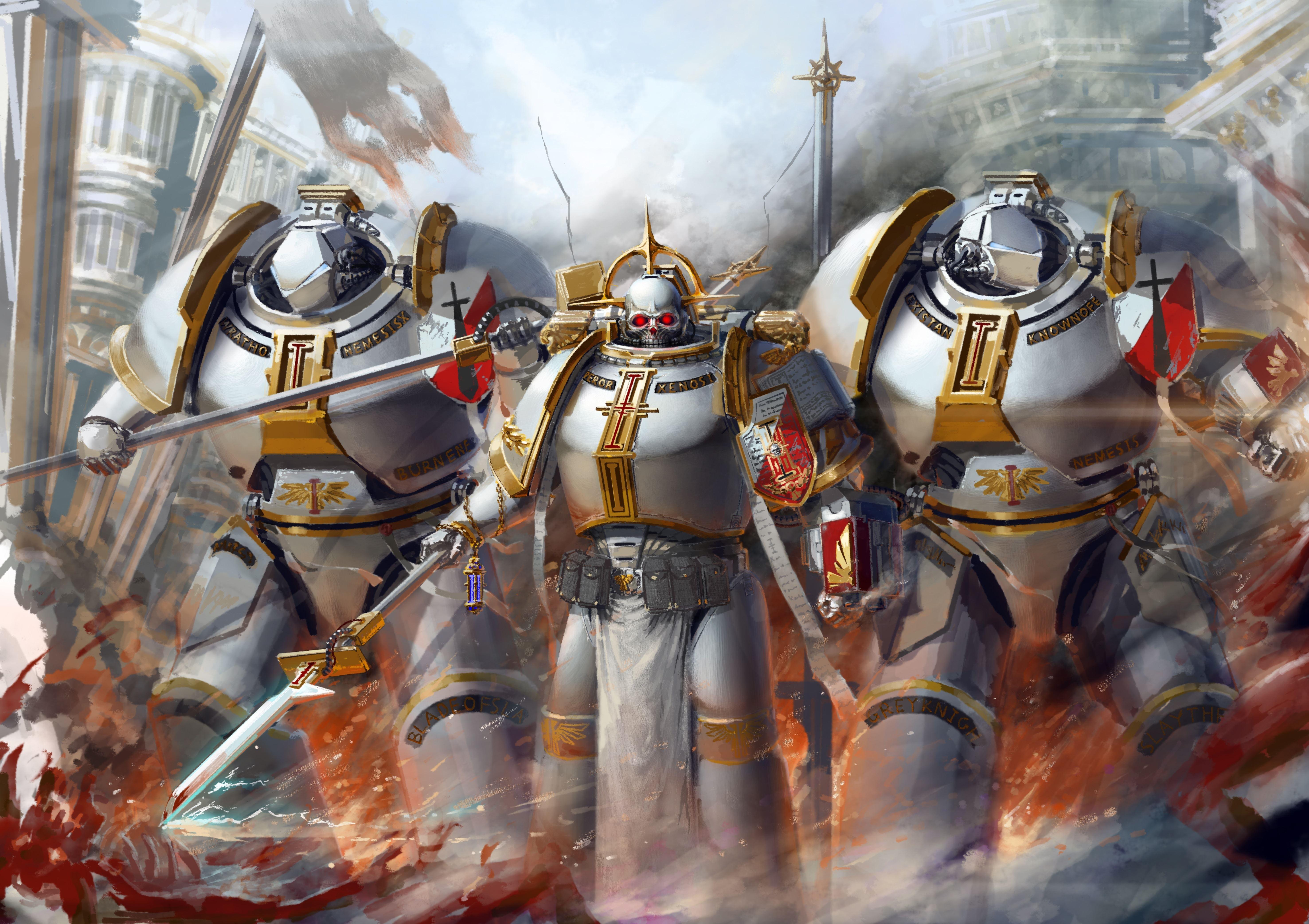 46 Warhammer 40k Wallpaper Grey Knights On Wallpapersafari