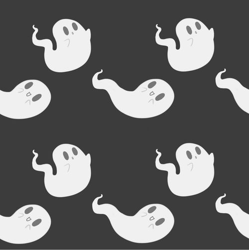 Cute ghosts Backgrounds Patterns Pinterest 500x502