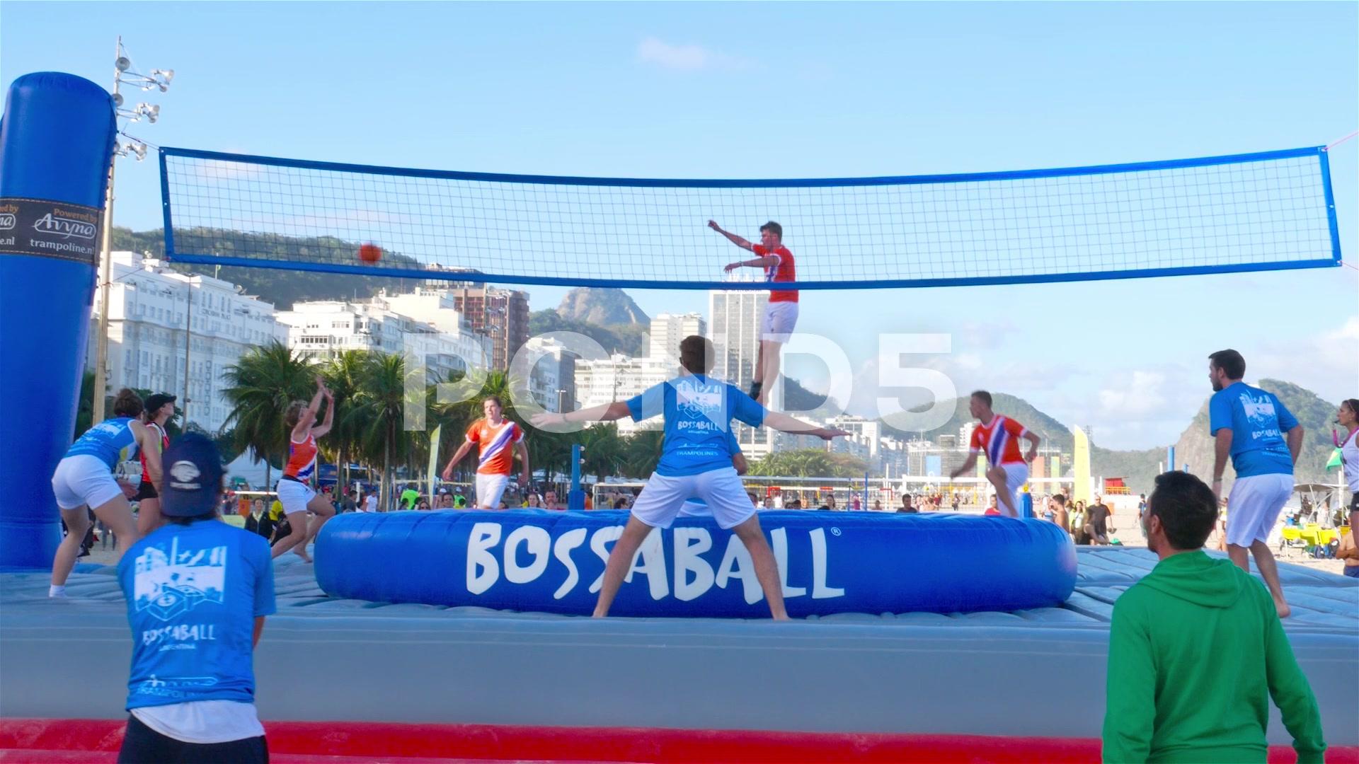 Bossaball Game HD 4K Stock Footage 67379193 Pond5 1920x1080