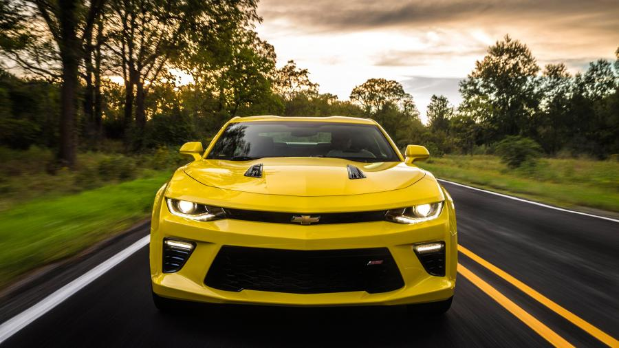 2016 Chevrolet Camaro Muscle Car 4K Wallpapers 900x506