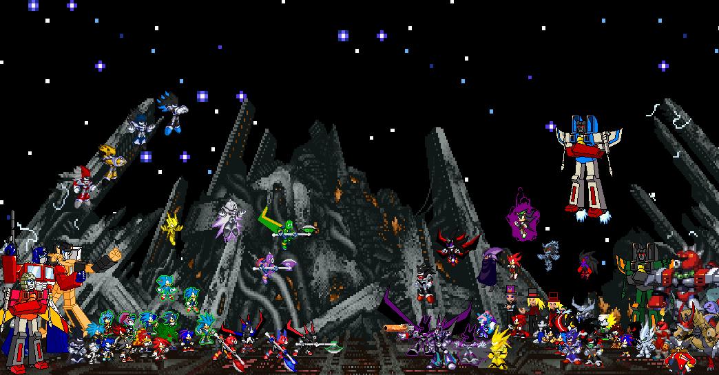 WFE Autobots VS Decepticons by DELGATRON 1044x545