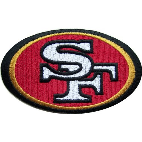 NFL Football SAN FRANCISCO 49ERS Logo Embroidered PATCH 500x500