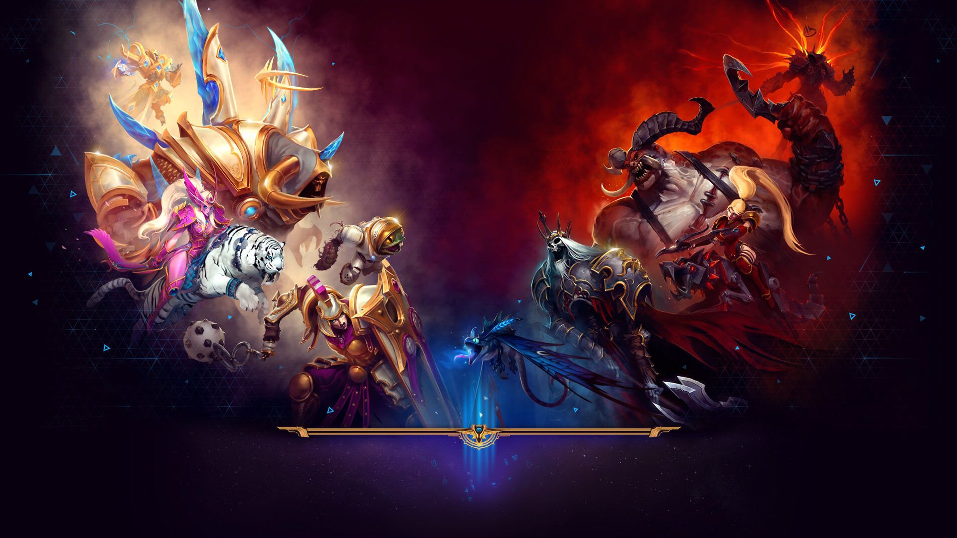 Heroes Of The Storm Wallpapers 4K 1920x1080   4USkY 1920x1080