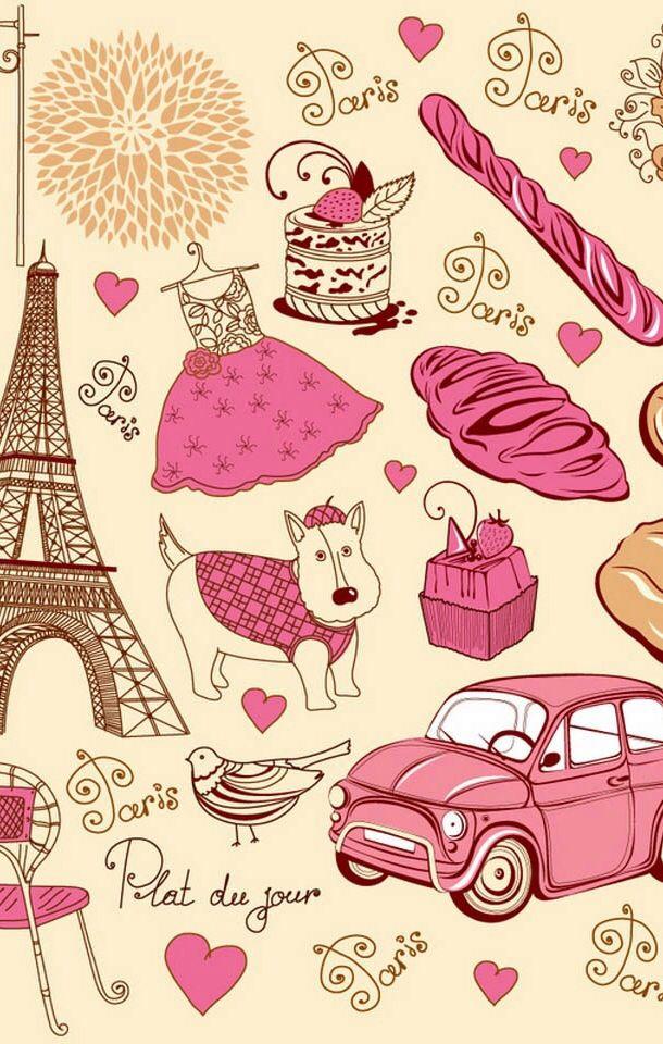 Pantalla Pinterest Paris Paris Images and Pattern Wallpaper 610x960