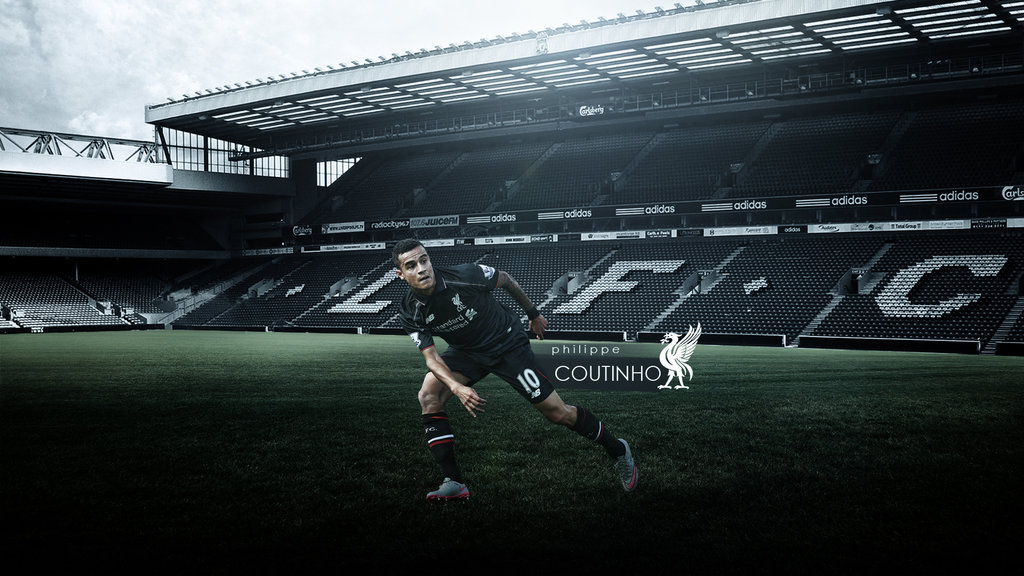 Liverpool wallpaper 2015 wallpapersafari - Coutinho wallpaper hd ...