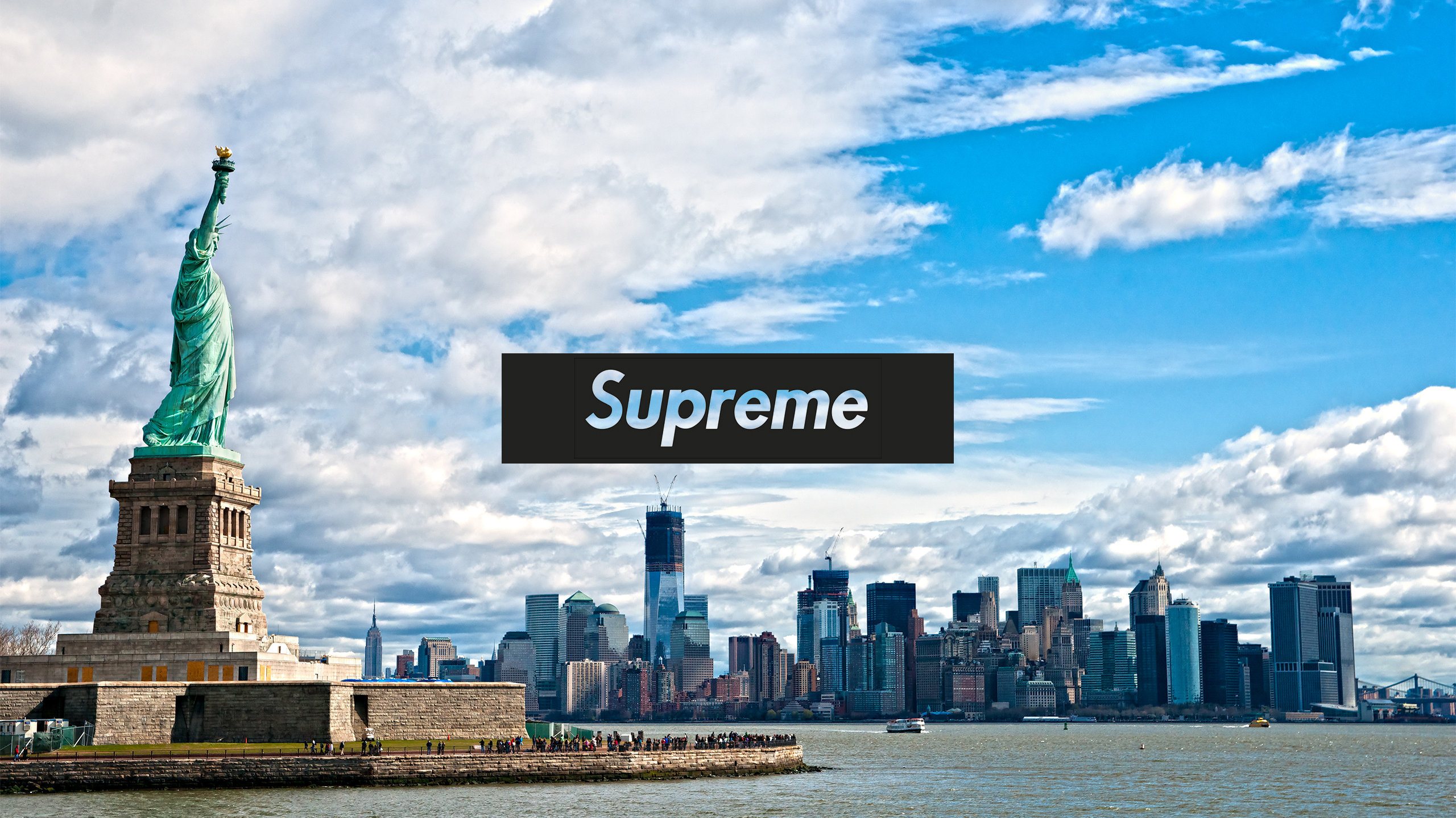 New York Supreme Wallpaper   AuthenticSupremecom 2560x1440