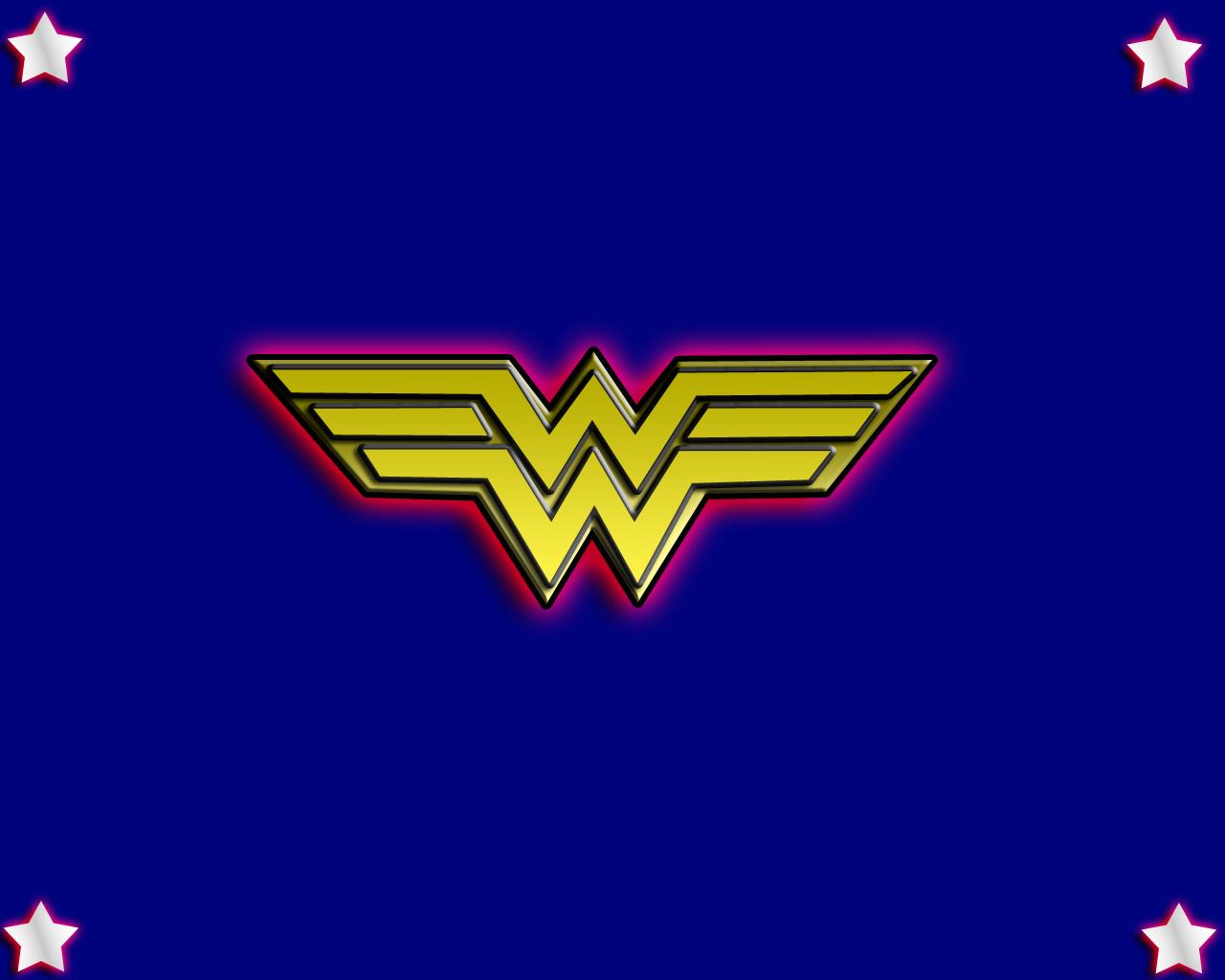 wonder woman logo wallpaper   Comic Imagescom 1280x1024