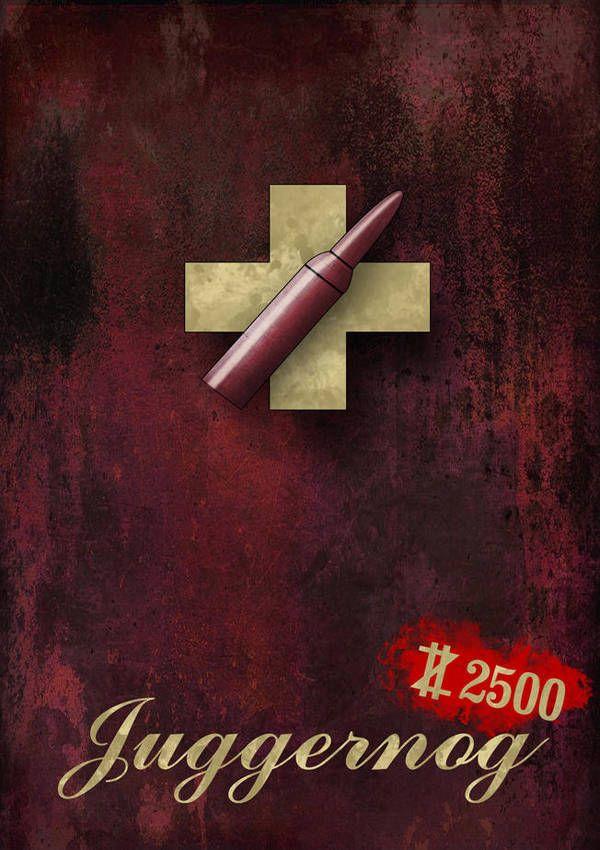 Juggernog inspired poster by Sunarufu Call of duty Call of 600x850