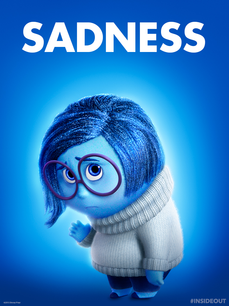 Disney coloring inside out - Sadness Tablet Wallpaper Sadness Inside Out Photo 38695298
