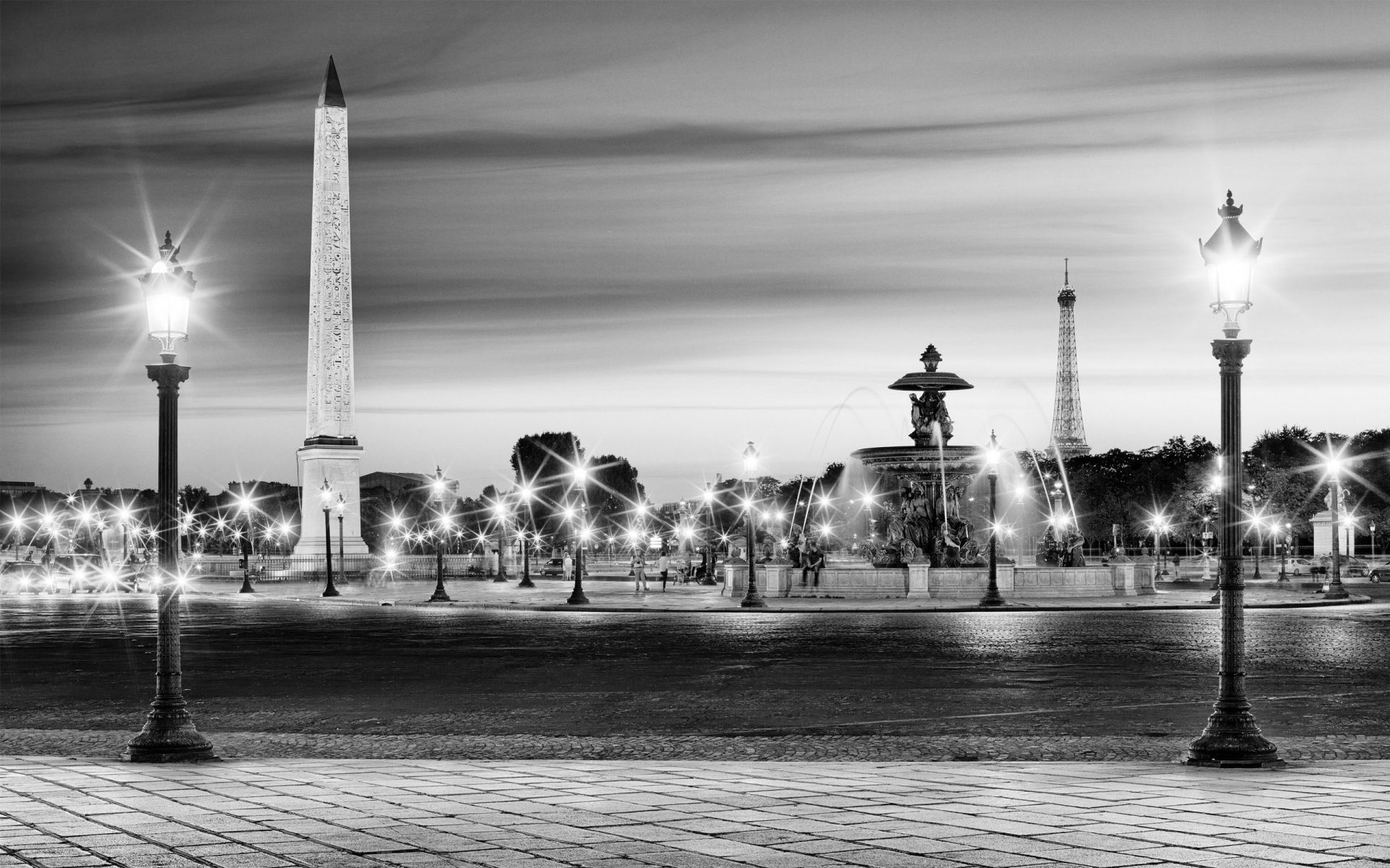 Black and white paris wallpaper hd wallpapers pretty 1920x1200