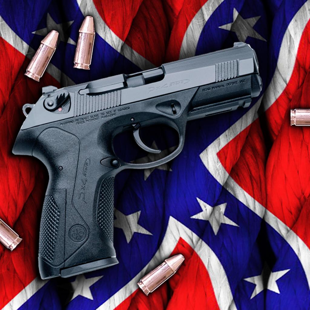 Southern Pride Rebel Flag WallpaperLifestyle   iPhoneiPad App 1024x1024