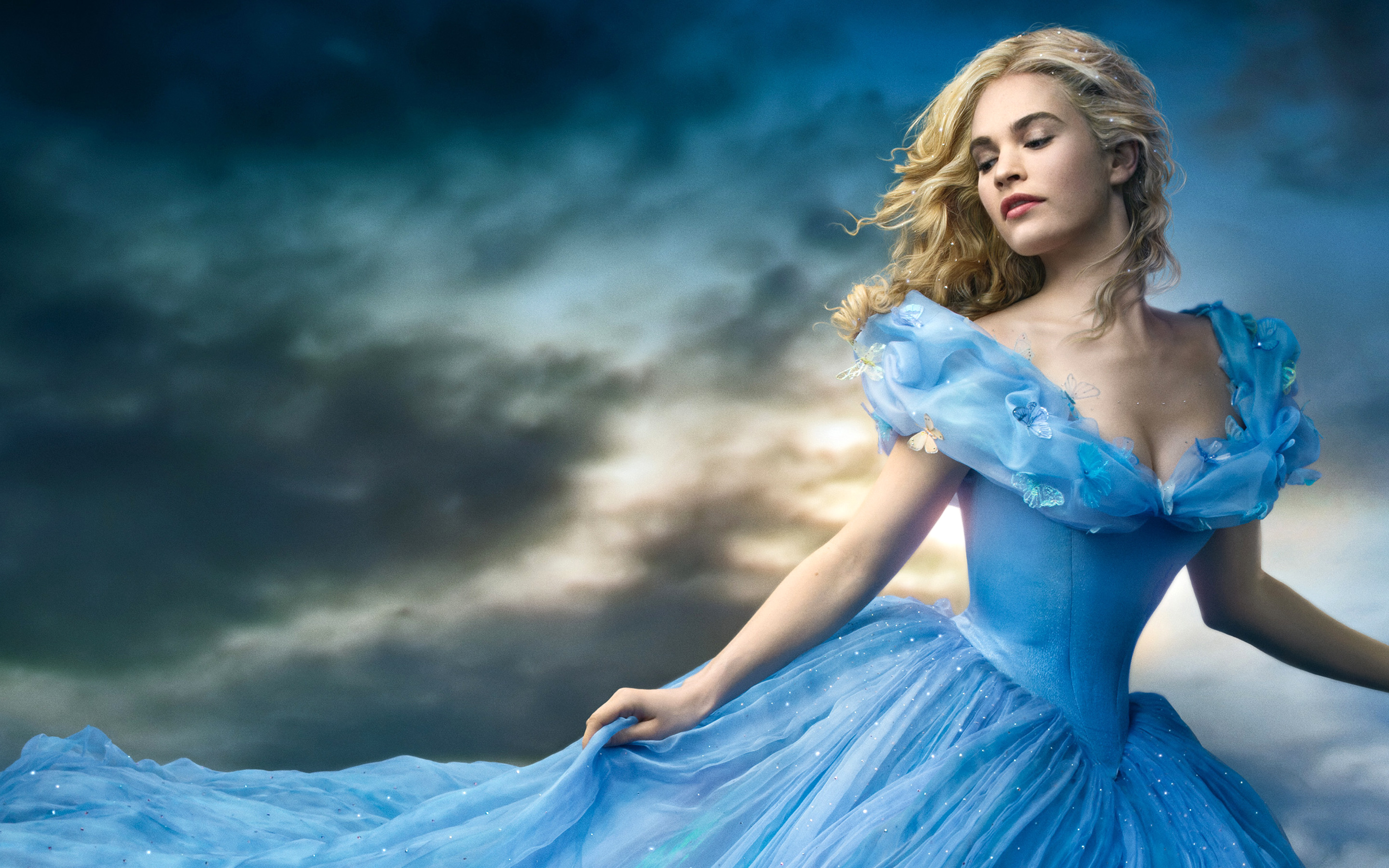 Disney Cinderella 2015 Wallpapers HD Wallpapers 2880x1800