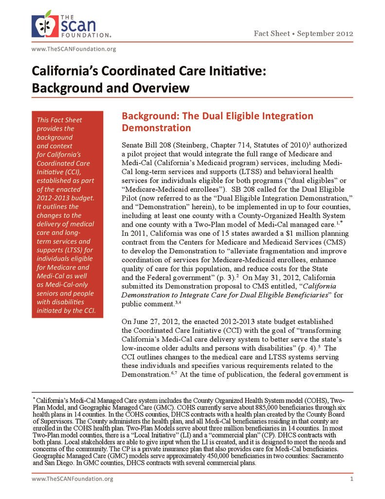 Californias Coordinated Care Initiative Background and Overview 791x1024
