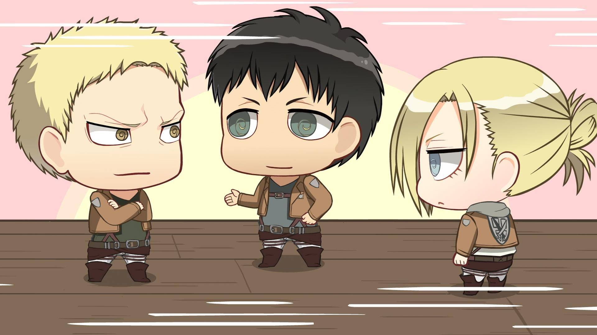 Free Download Eren Annie And Reiner Attack On Titan Wallpaper 1920x1080 For Your Desktop Mobile Tablet Explore 50 Attack On Titan Annie Wallpaper Attack On Titans Wallpaper Attack On