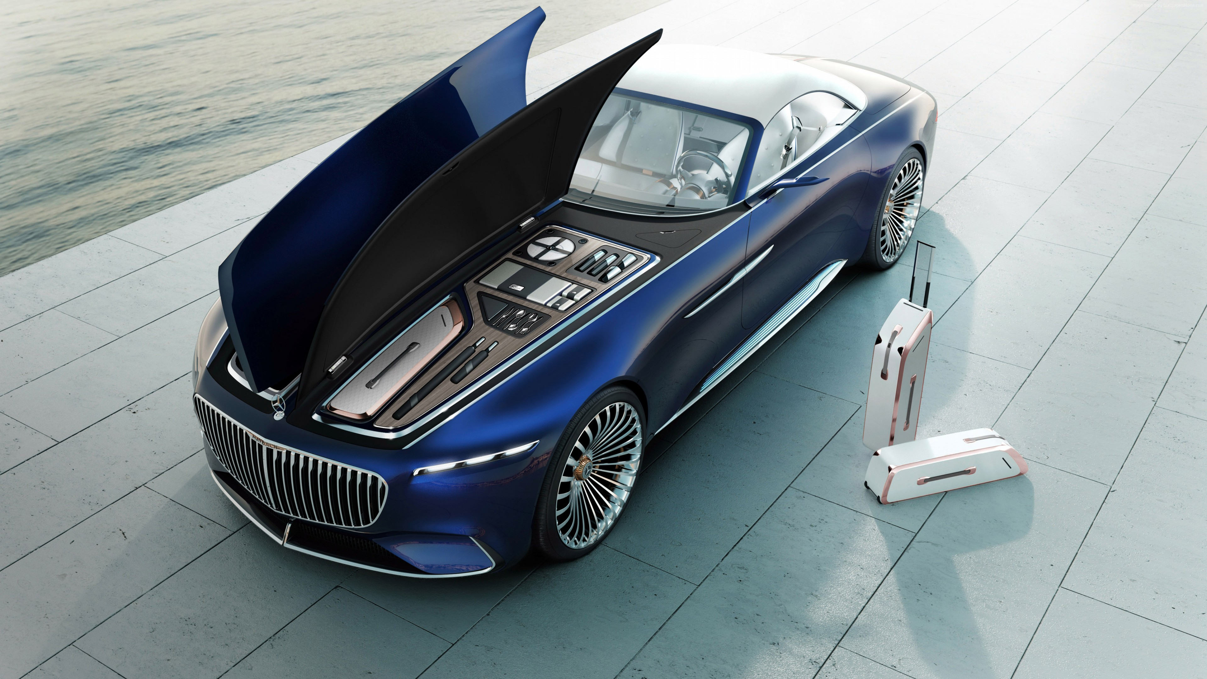 Mercedes electric car 597 Wallpapers and Stock Photos 3840x2160