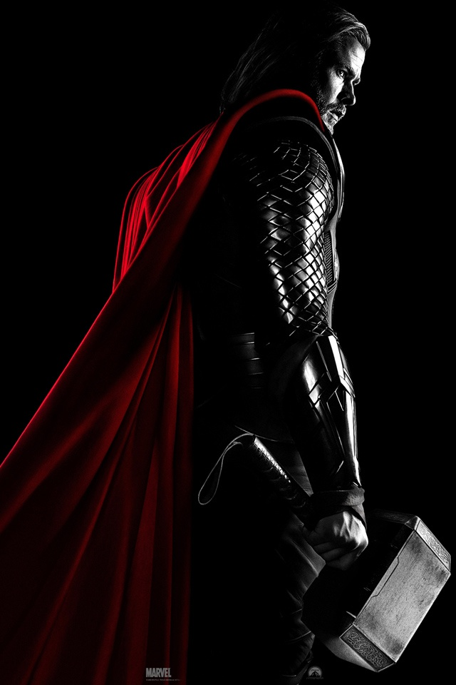 Marvel Comics THOR    iPhone wallpaper 640x960 iPhone Wallpaper 640x960