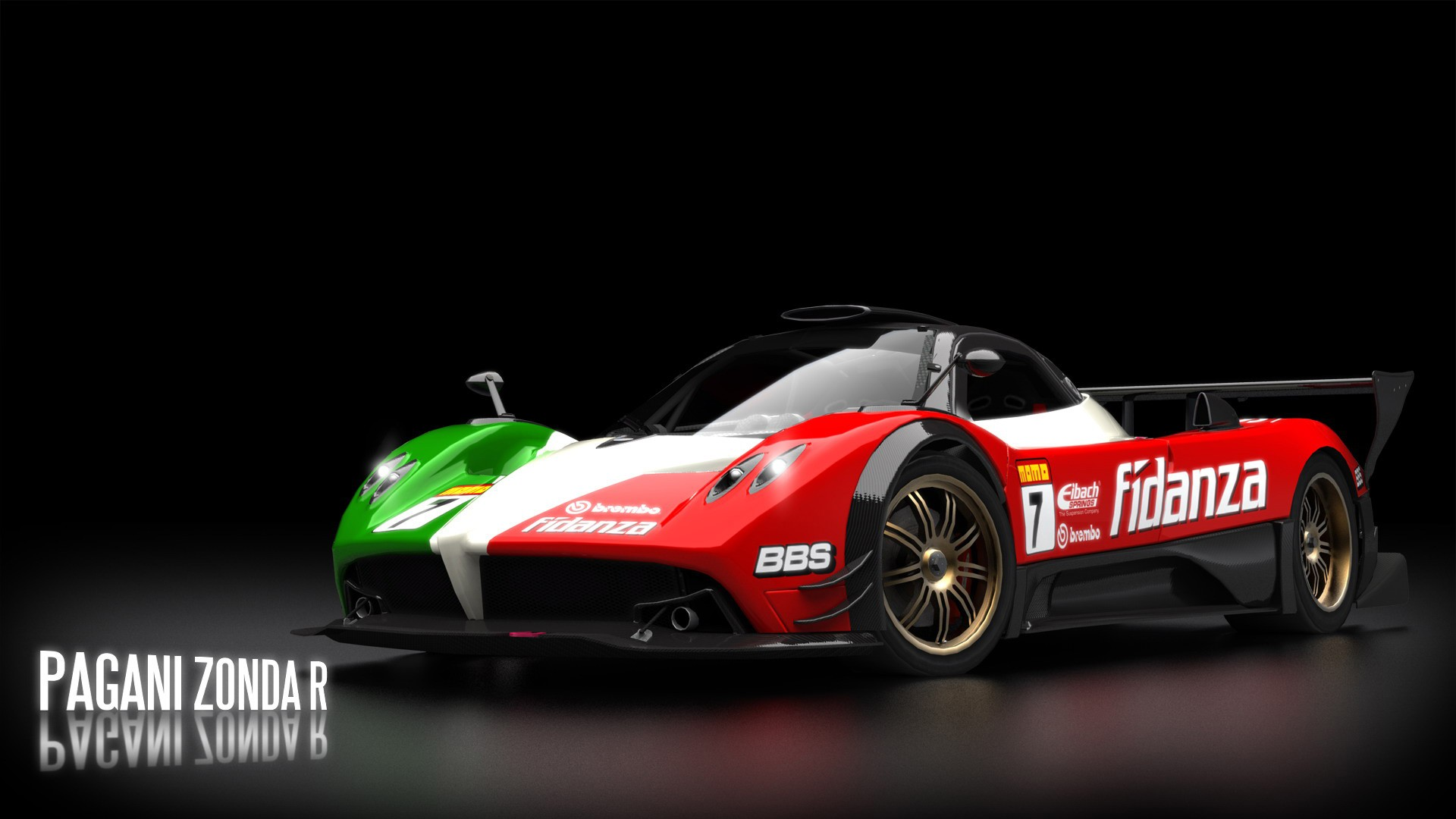 Pagani Zonda Widescreen High Definition Wallpaper Download 1920x1080