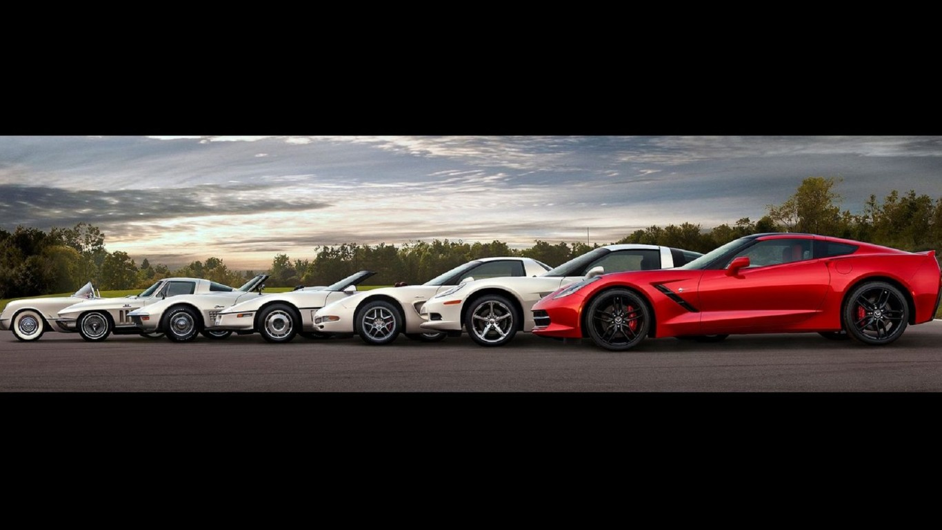 Corvette Stingray Wallpaper Iphone Ylrchas Engine Information 1366x768