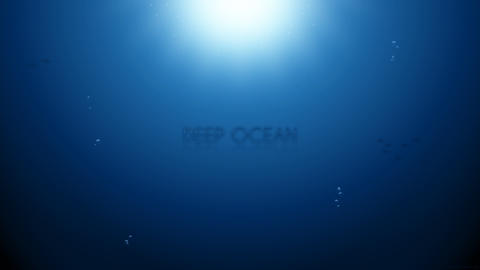 Deep Ocean Full HD by kartine29 1920x1080