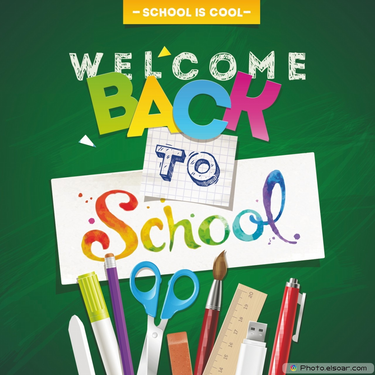 Welcome Back to School Wallpapers   Top Welcome Back to 1280x1280