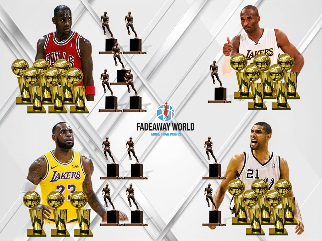 Top 15 Players With The Most Trophies In NBA History Fadeaway World 1024x768