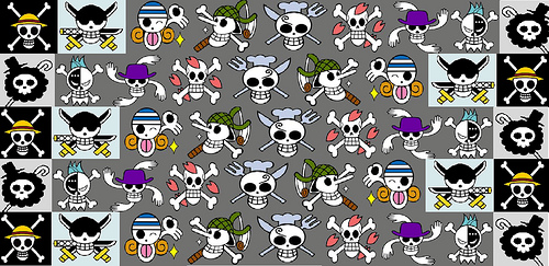 One Piece Jolly Roger wallpaper Flickr   Photo Sharing 500x243