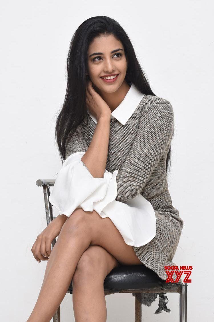 Actress Daksha Nagarkar Stills From Husharu Movie Promotions With 750x1125